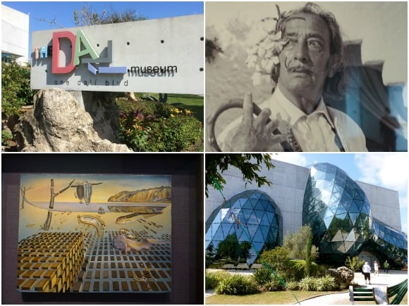 The Dali Museum in St. Petersburg with its amazing collection of artwork