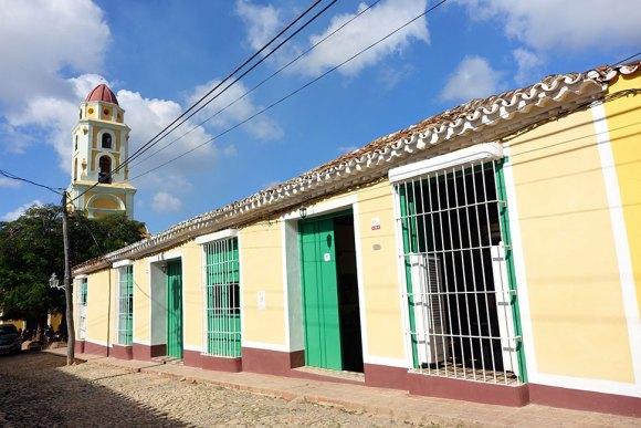 Front view of Casa Ariana Particular in Trinidad Cuba