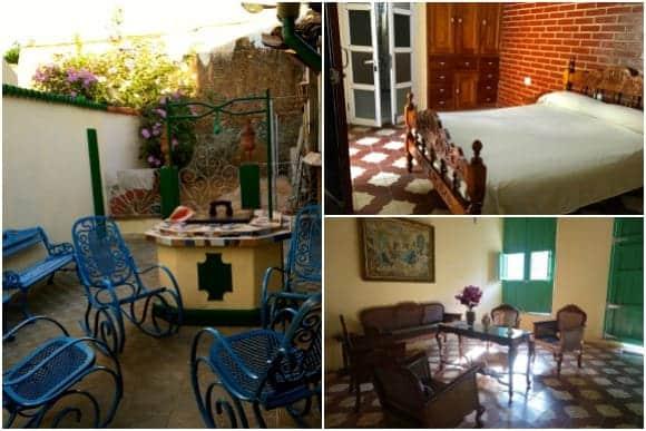 Inside Casa Ariana Particular in Trinidad Cuba