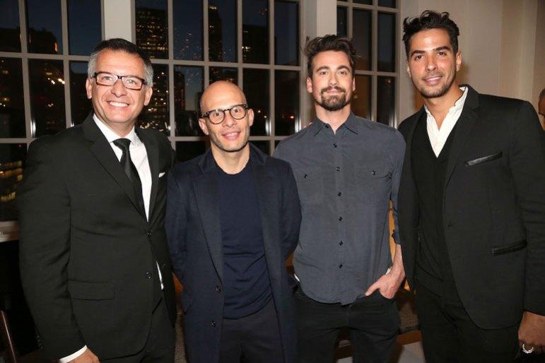 Gaston Isoldi, Rafael de Cardenas, Samuel Amoia, and Javier Gomez. Photography courtesy of Maison&Objet.