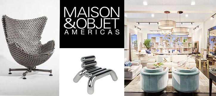 MAISON&OBJET AMERICAS -Lifestyle and Home Design Show Comes to Miami Beach