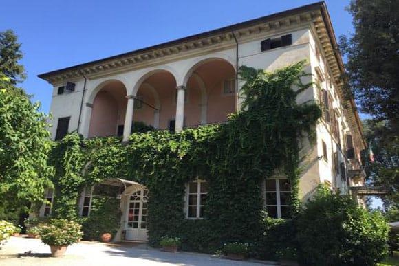 Hotel la Principessa Lucca Front Entrance