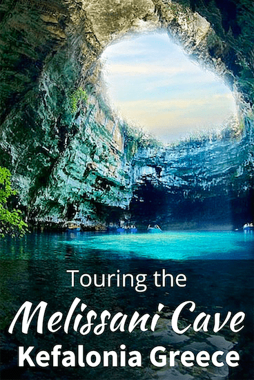 Tour to Melissani Cave, Kefalona Greece