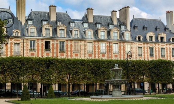 Place des Vosges, formerly called Place Royale