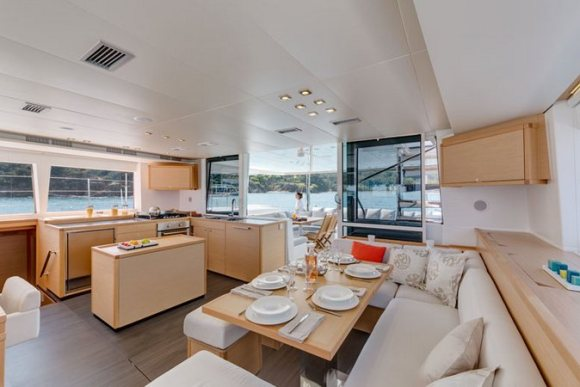 Lagoon 560 Catamaran Interior