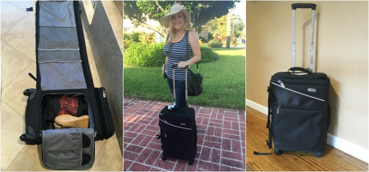 Review of SkyRoll Suitcase and Roll-Up Garment Bag for Travelers
