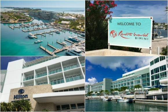 The Hilton Resorts World Bimini Resort Bahamas