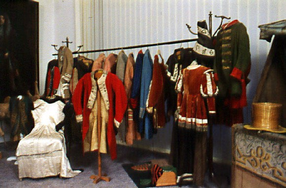 The Baroque Theater Costumes Image Cesky Krumlov Castle