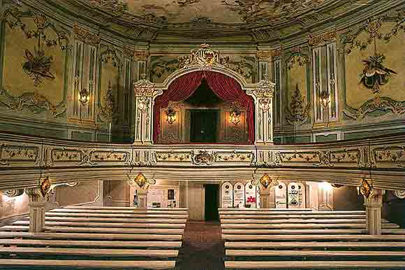 The Baroque Theater Image Cesky Krumlov Castle