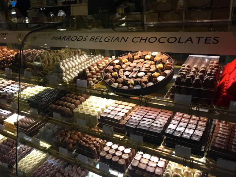 Belgian Chocolates at Harrods London