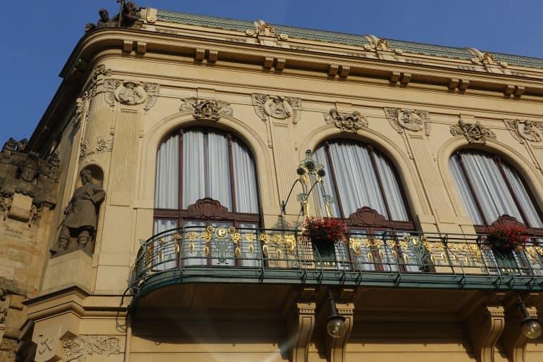 The Municipal Building in Prague