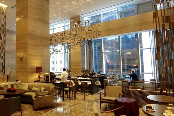 The Living Room Lounge Bar Area - Park Hyatt New York