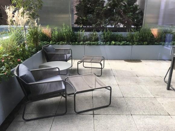Park Hyatt New York King Suite Outdoor Sitting Area