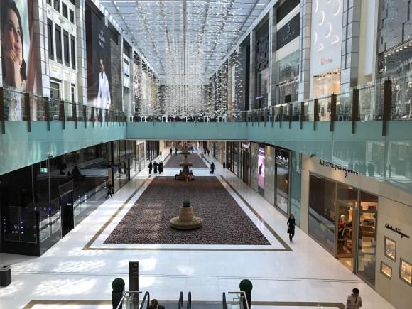 Inside the Dubai Mall