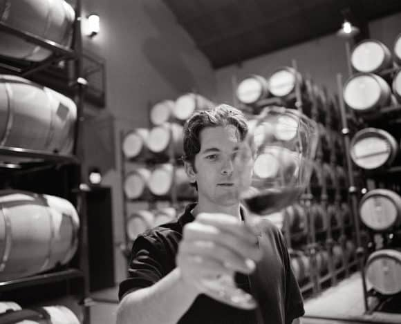 Photo by Trinchero Napa Valley - Mario Monticelli Barrel Room