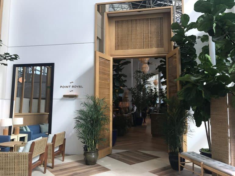 Point Royal Restaurant - Diplomat Beach Resort by Carmen Edelson