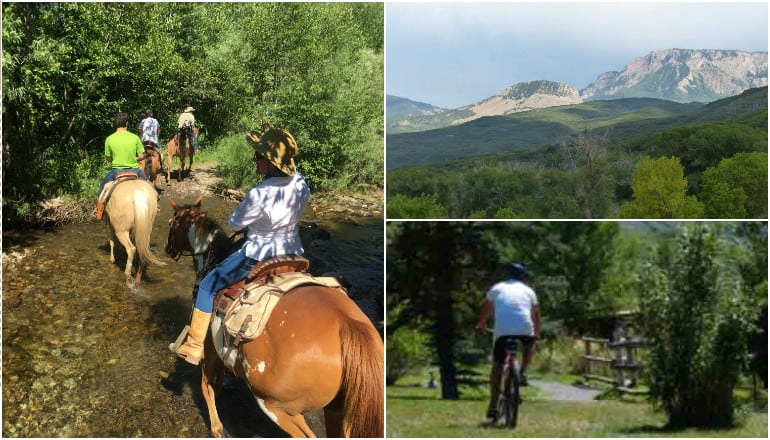 Hiking and Horseback Riding at Smith Fork Ranch Colorado