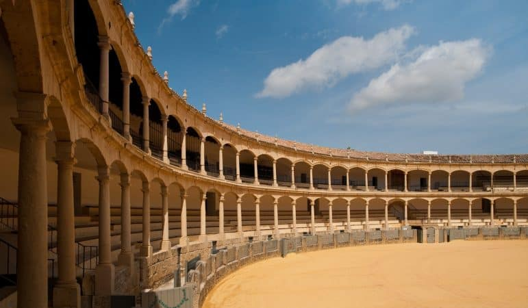 Plaza de Toros - Ronda photo by Carmen Edelson (Carmen's Luxury Travel)