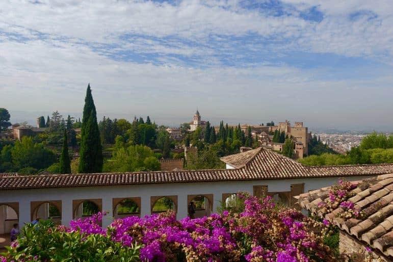 Generalife Gardens Alhambra, Granada photo by Carmen's Luxury Travel