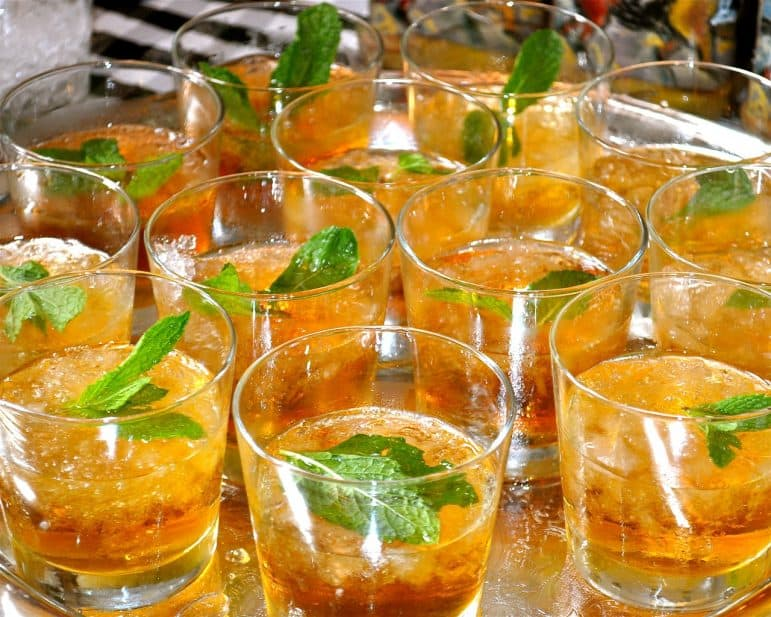 Mint Juleps Drinks at the Kentucky Derby