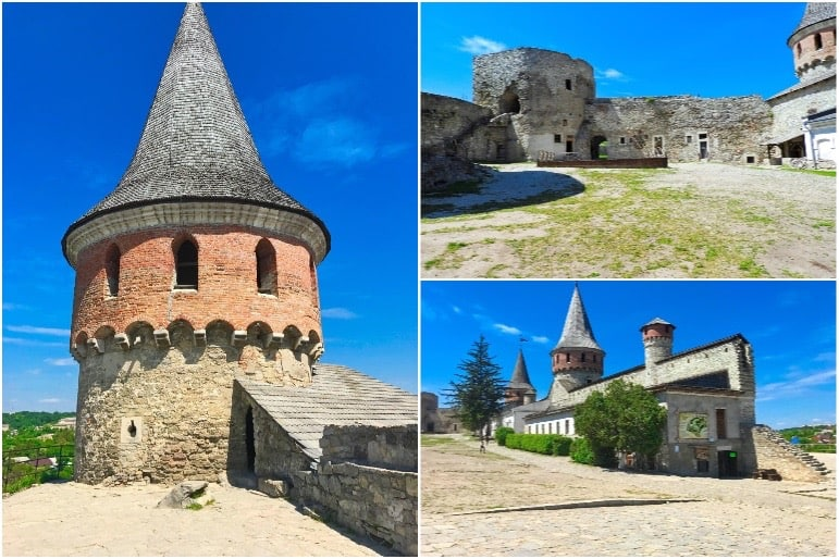 Kamianets-Podilskyi Castle Courtyard