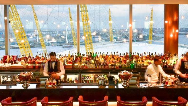 Image Eighteen Sky Bar-InterContinental London The O2