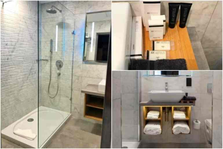 The Comfort Quad Room Bathroom - The Saint John Malta