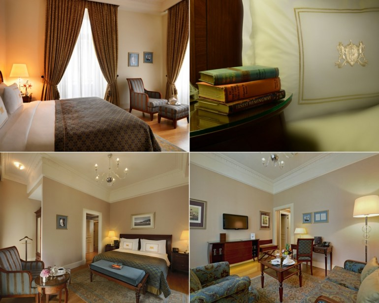 Ernest Hemingway Room - Pera Palace Istanbul