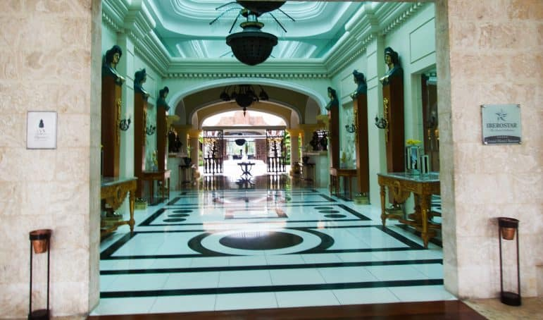 Iberostar Grand Hotel Bavaro Entrance
