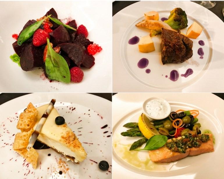 Imperial Restaurant Menu Selections - Corinthia Hotel St Petersburg