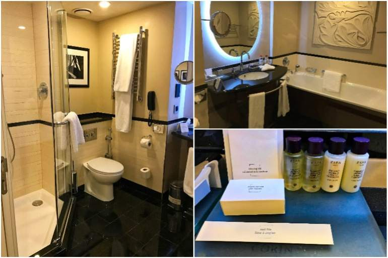 Junior Suite Bathroom- Corinthia Hotel St Petersburg