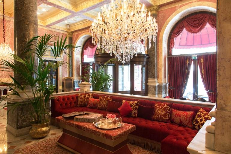 Pera Palace Hotel Jumeirah Istanbul Lobby Area