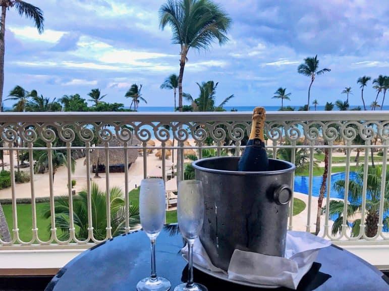 Seaside Grand Suite view from balcony - Iberostar Grand Hotel Bavaro Punta Cana