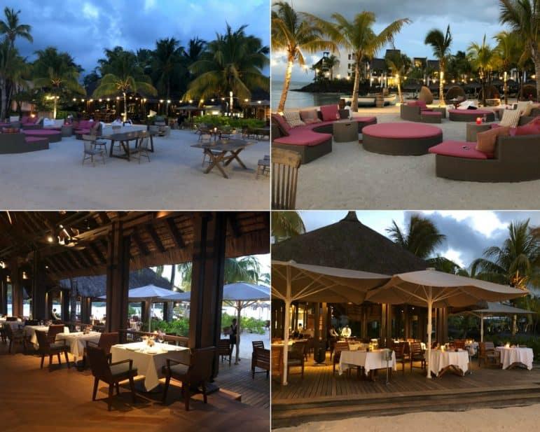 Republik Beach Club & Grill Outdoor Seating Area - Shangri-La Le Touessrok Resort