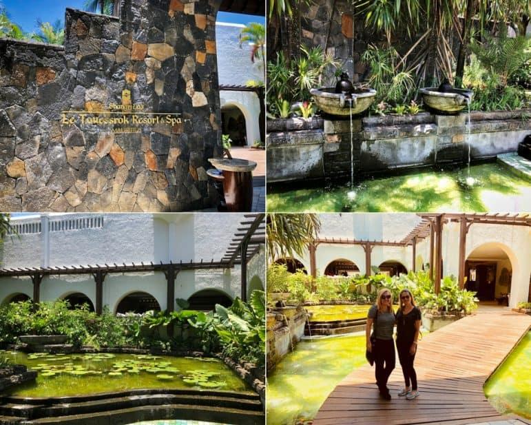 Entrance at Shangri-La Le Touessrok Resort & Spa
