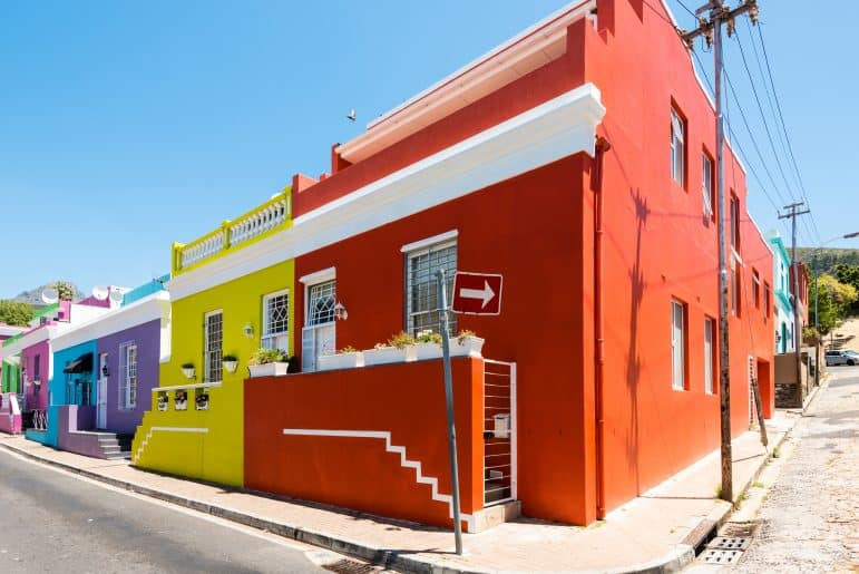 Bo Kaap Houses - Cape Town