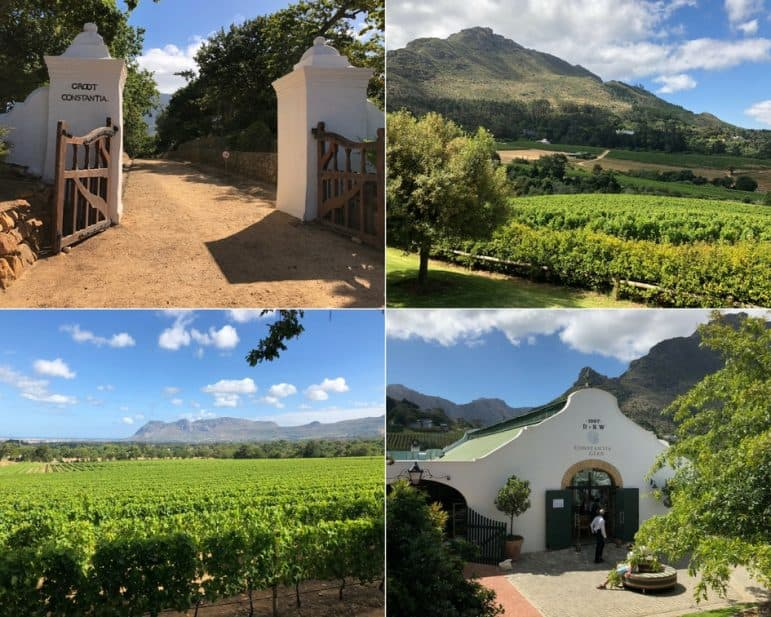Constantia Glen Wine Estate inside Constantia Valley - Cape Town