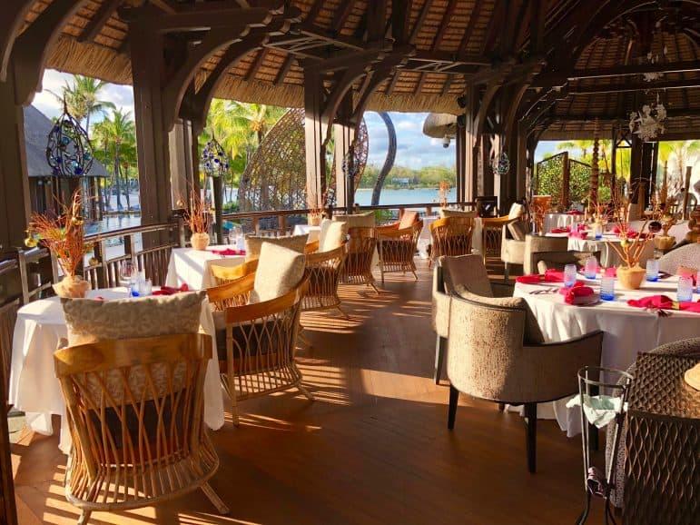 Safran Restaurant - Shangri-La Le Touessrok Resort