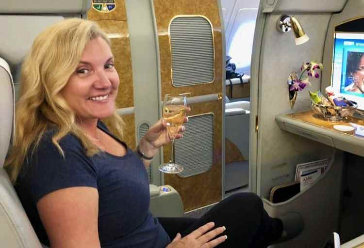 Flying First Class on Emirates Airlines