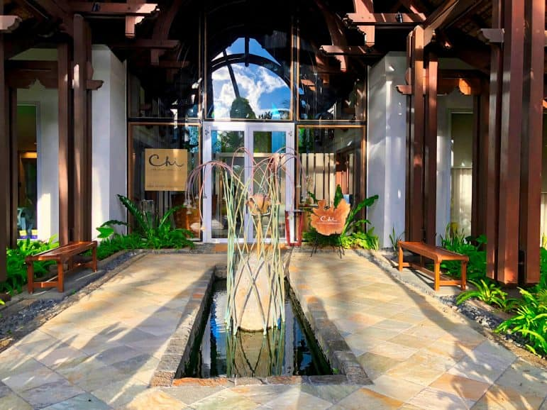 Chi Spa Entrance- Shangri-La Le Touessrok Resort & Spa Mauritius