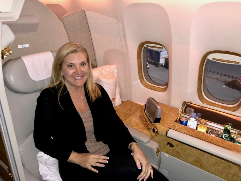 Emirates First Class Suite - 777-300ER