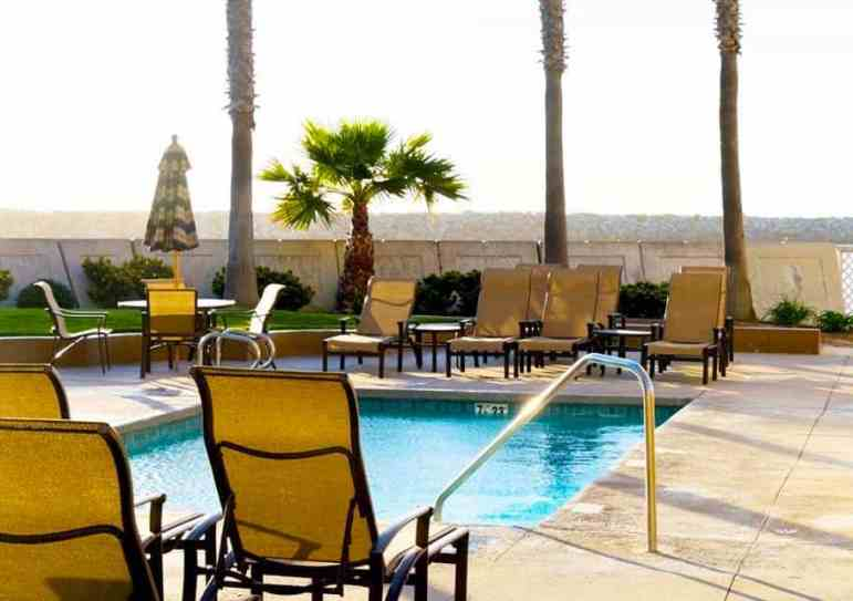 Pool Area at The Portofino Hotel