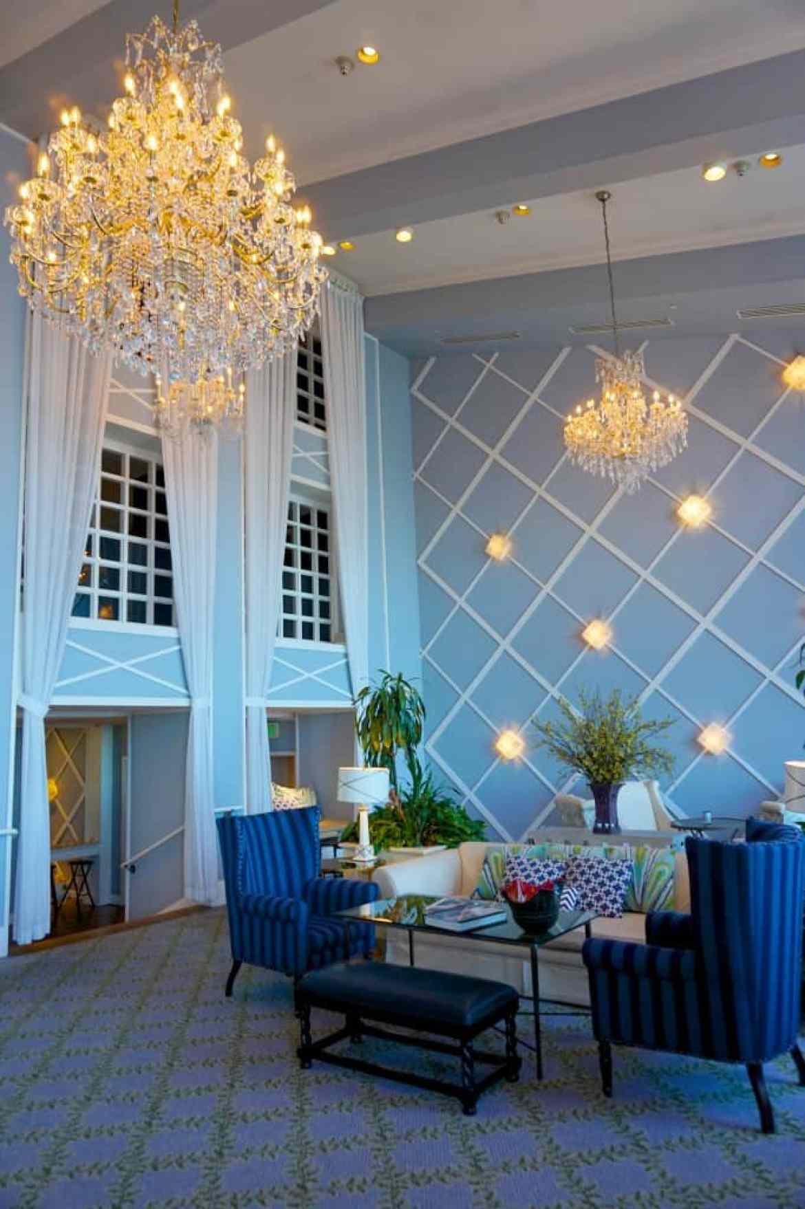 The Portofino Hotel's Living Room