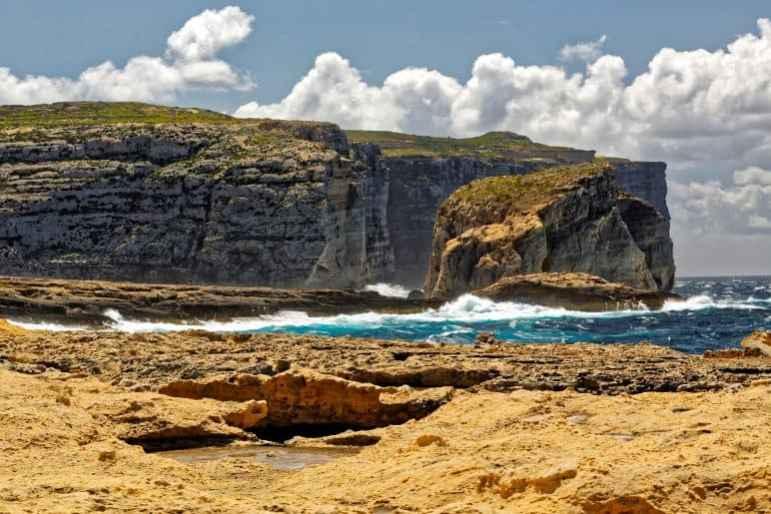 Gozo rugged landscape