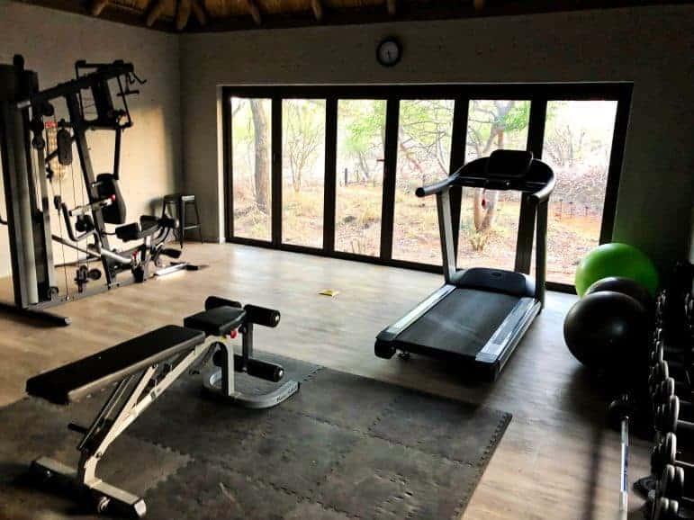 Pondoro Safari Game Lodge Fitness Center