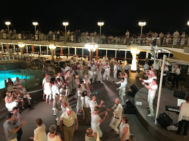 White Night Party - Azamara Club Cruises