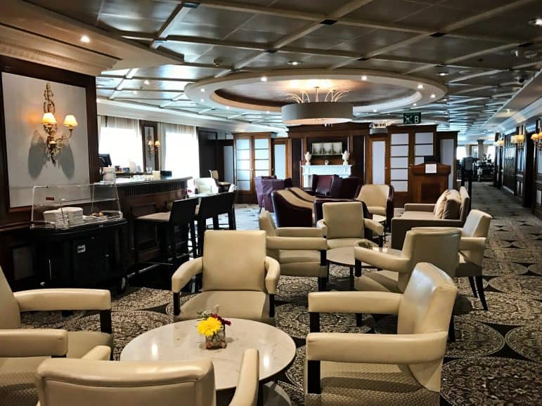 Mosaic Café onboard Azamara Journey