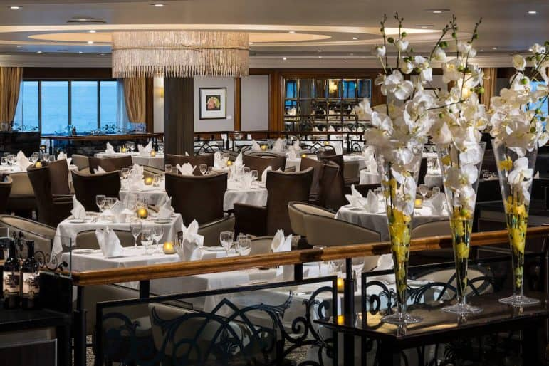 Discoveries Restaurant - Photo courtesy of Azamara Club Cruises