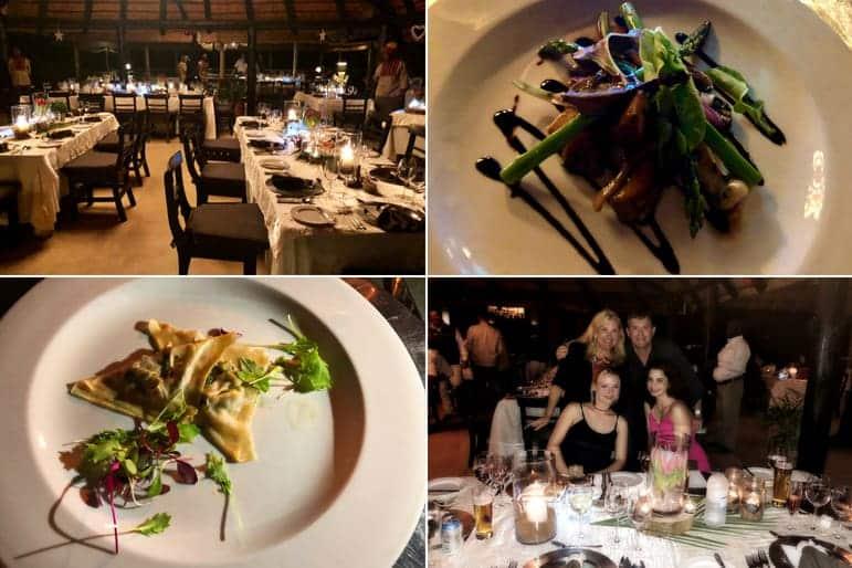 Sabi Sabi Bush Lounge Dining Options