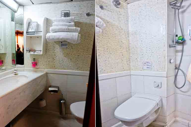 Category B Bathroom - M/S Panorama Ship